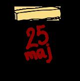 Bild med datumet 25maj 2018