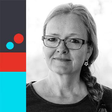 Porträttbild på Mette Koverberg driver Graphicview I See U ab
