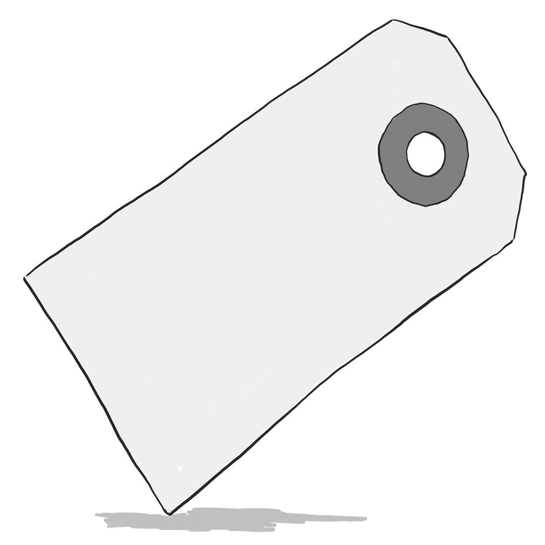 Symbol för etikett