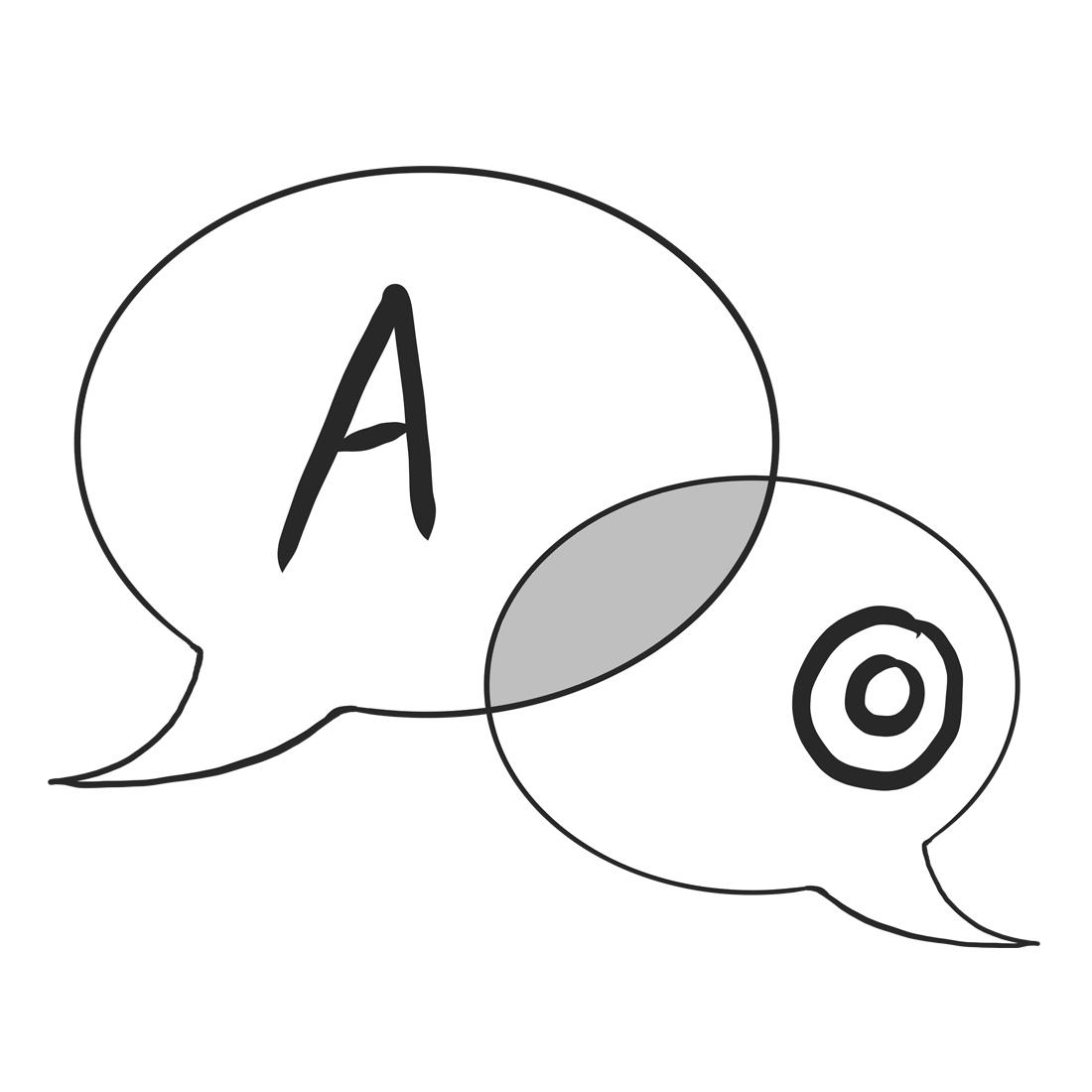 Symbol för kommunikation.