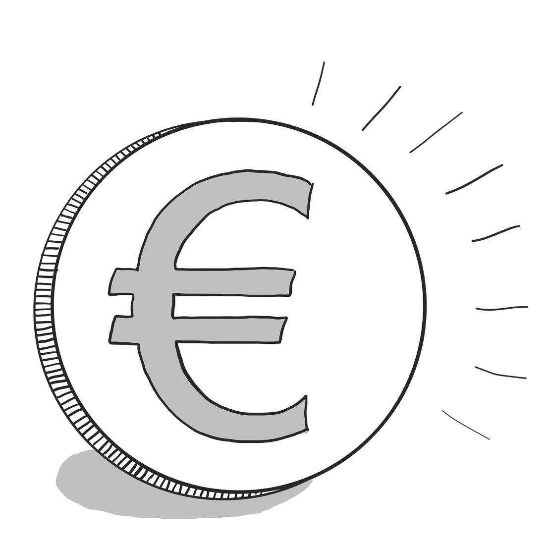 Symbol för kostnad Bilden symbolen ord