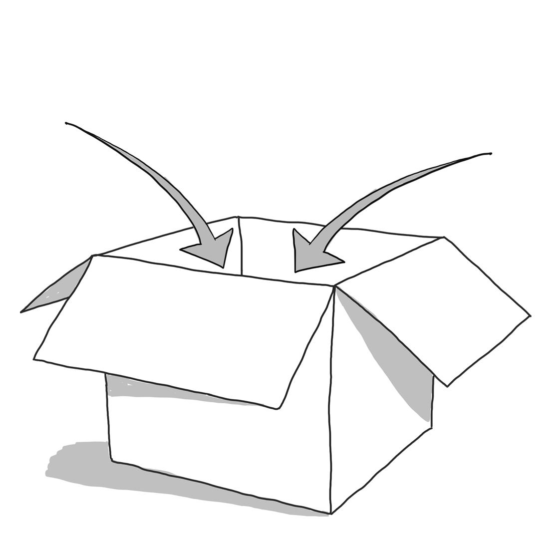 Symbol för packning