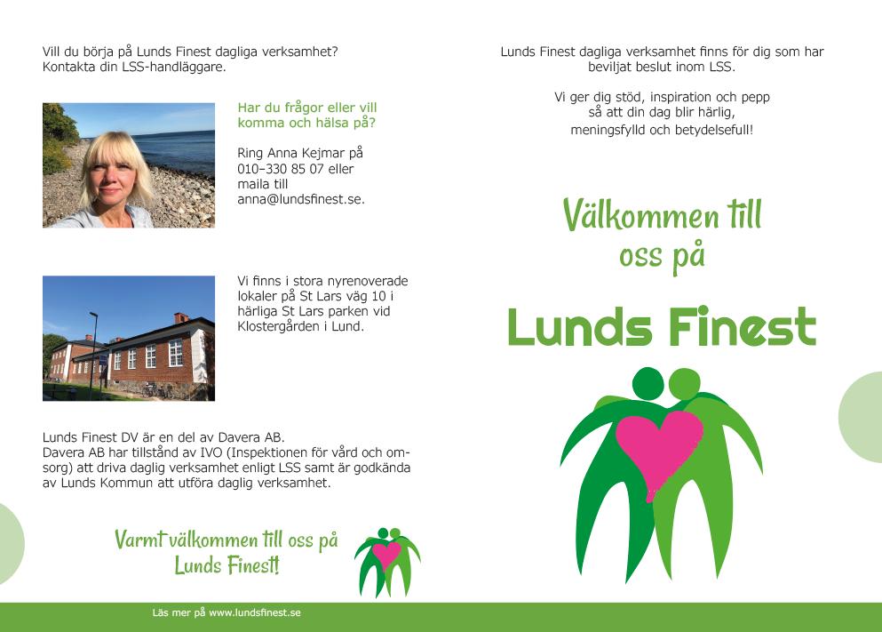 Folder till Lunds Finest