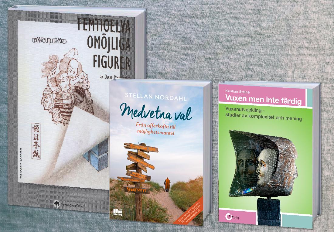 Bilden Visar Tre Böcker Formgett Av Graphicview